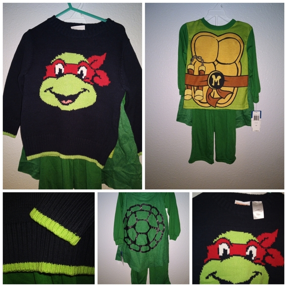 Nickelodeon Other - Ninja turtle 3t bundle